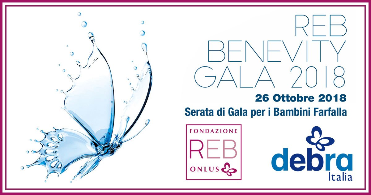 Gala di Beneficienza Bambini Farfalla 2018